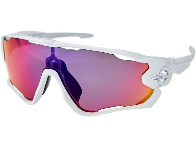 Oakley Jawbreaker Sunglasses polished white/prizm road